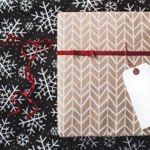 Do It Yourself Geschenkverpackung: Weihnachtliche Stoffbeutel