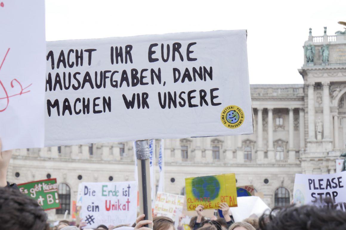Klimastreik: eine Zukunft, für die es sich zu kämpfen lohnt