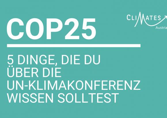 COP25 – 5 Dinge, die du wissen solltest
