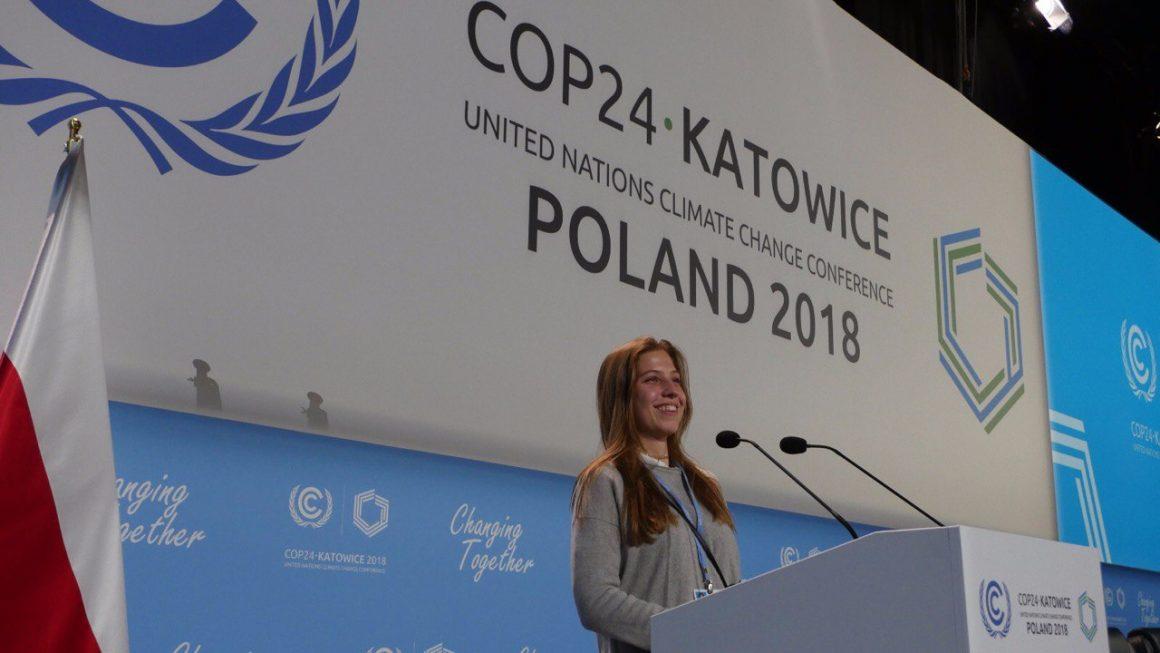 Jugenddelegierte*r für die UN-Klimakonferenz gesucht
