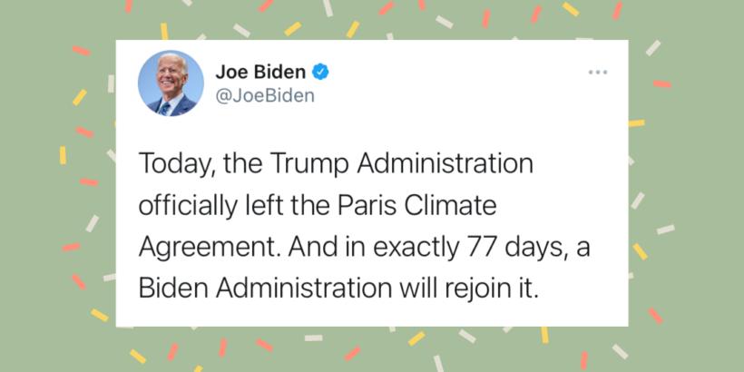 Tweet von Joe Biden vom 05.11.2020